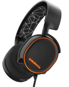 SteelSeries Arctis 5 RGB Illuminated Gaming Headset with DTS Headphone:X 7.1 Surround for PC