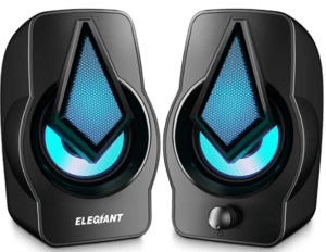 ELEGIANT PC Speakers 2.0 USB Powered