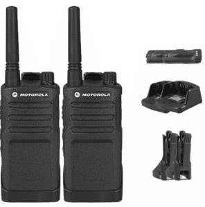 Motorola RMU2040 Business Two-Way Radio 2 Watts/4 Channels Military Spec 20 Floor Range